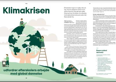 Klimakrisen udfordrer efterskolers arbejde med global dannelse