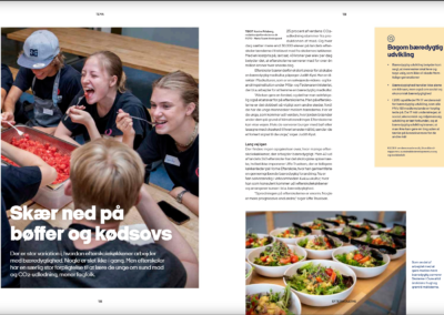 Tema: Bæredygtig køkkenrevolution på efterskolerne